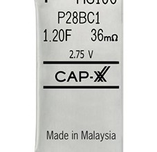 HS1 Cap-XX ultracapacitor