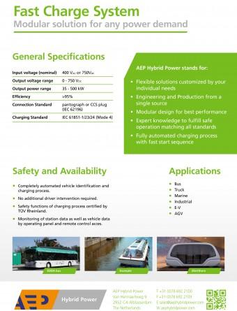 Fast Charge Systems flyer part2