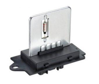 Plate style resistors