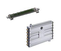 liquid cooled power resistors